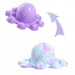紫兰白底图